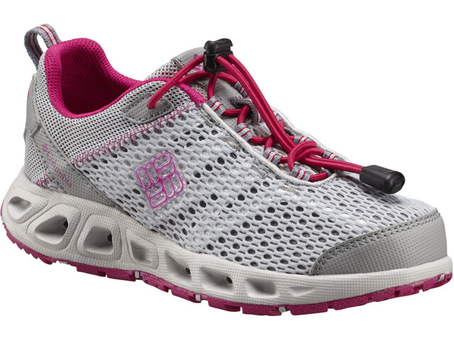 Columbia Drainmaker III Chaussures Enfant, grey ice/haute pink